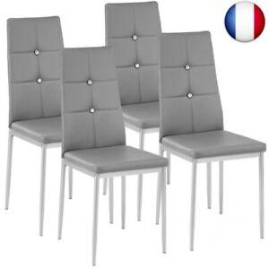 4x Chaise de salle à manger ensemble meuble salon design chaises de cuisine