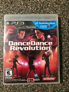 Dance-Dance-Revolution-DDR-Sony-PlayStation-3-PS3-Clean-amp-Tested-Working