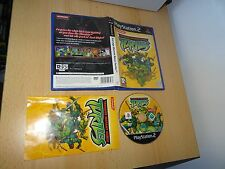 TEENAGE MUTANT NINJA TURTLES  PS2  uk PAL  version