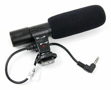 Stereo Microphone 3.5mm For Nikon Sony Canon Panasonic SLR Camera