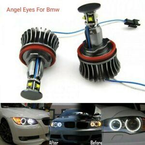 LAMPADE-H8-LUCI-DI-POSIZIONE-LED-BMW-SERIE-3-E90-E91-E92-E93-ANGEL-EYES-6000K