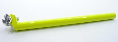 SEAT POST PROMAX LITE 27.2 mm w// CLAMP 400mm GREEN 27.2mm