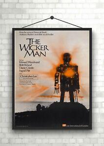 The Wicker Man Vintage Classic Movie Poster Art Print A0 A1 A2 A3 A4 Maxi