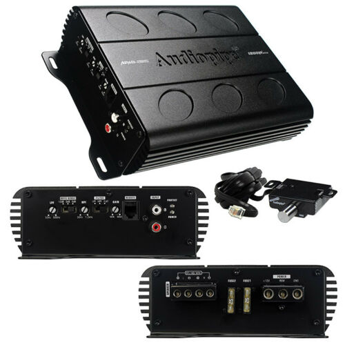 NEW Audiopipe APMI-2125 2 Channel Amp Car Audio Amplifier /& Remote Knob APMI2125
