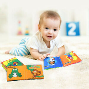 1PC-Intelligence-Development-Cloth-Bed-Cognize-Book-Educational-Toy-For-Kid-Baby