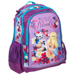 Disney-Fairies-Backpack-School-Bag