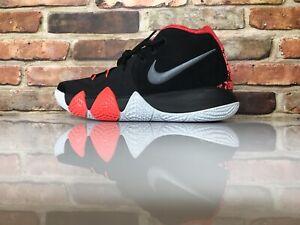 Basket Misure Da Kyrie Scarpe Nero 4 Bianco Scuro Grigio Nike 8 Cremisi Aw1YRqq