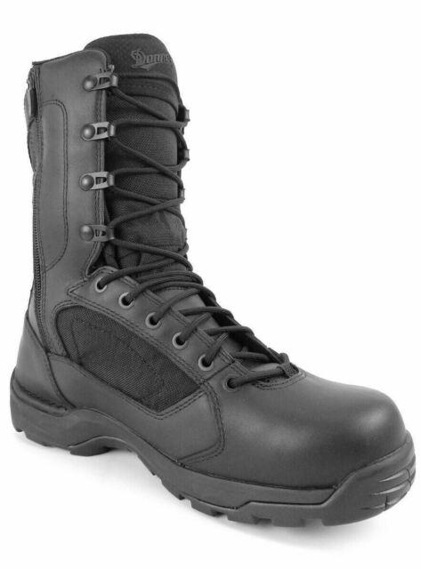 "Danner Striker Torrent Side-Zip 8/"" Work Boots Black All Sizes 43013"