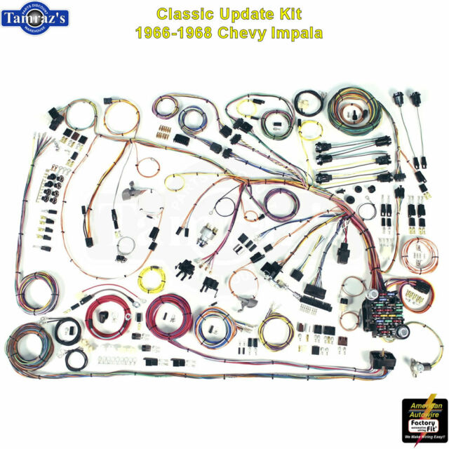 1966-1968 Chevy Chevrolet Impala Complete Wire Harness Kit Direct Fit NEW  510372 for sale online | eBay | Chevrolet Impala Wiring Harness For |  | eBay