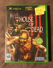 House Of The Dead III 3 Original Microsoft Xbox ~ Complete! ~ Fastest Shipping!