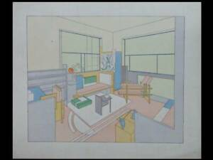 BERNARD-BIJVOET-JOHANNES-DUIKER-MODERNIST-BEDROOM-1929-POCHOIR
