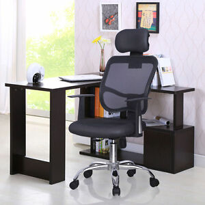 Image Is Loading Ergonomic Mesh High Back Executive Computer Office Chair
