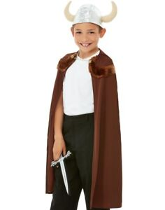 Childs-Viking-Fancy-Dress-Kit-Childrens-Boys-Girls-Viking-Costume-Set-by-Smiffys