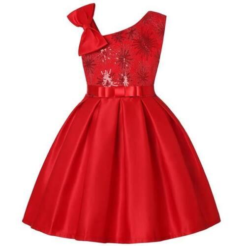 Dress flower girl dresses wedding formal party baby princess tutu kid bridesmaid