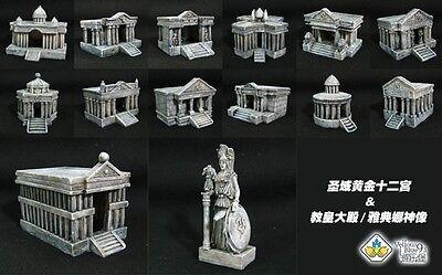 Saint Seiya Scene 12 Halls & Grand Pope & Athena 14pcs