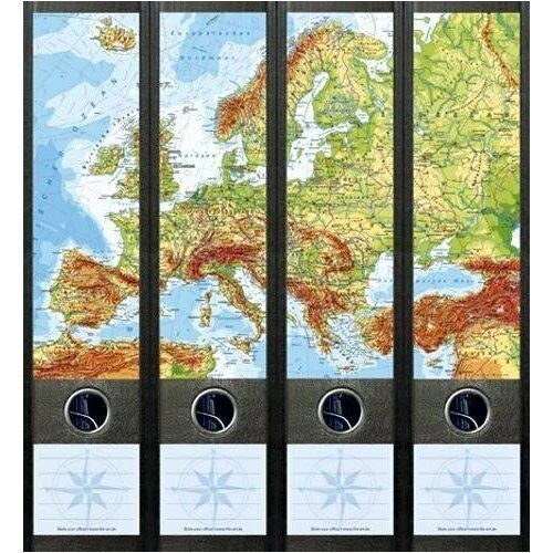 File Art 4 Design Ordner-Etiketten Europe....................................061