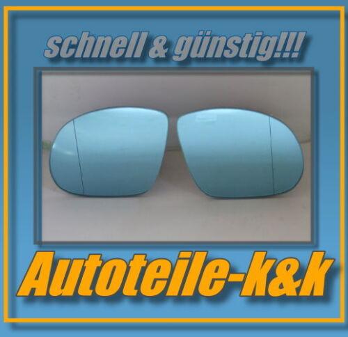Glace polie BMW 3 e36 m3 tuning 91-98 droit asphärisch côté passager bleu