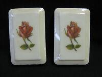 Vintage Avon Hand Soap Dish, W/2 Soaps