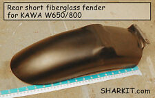 Half REAR FENDER FIBERGLASS  for KAWASAKI W650/800  GFK hinten Kotflügel