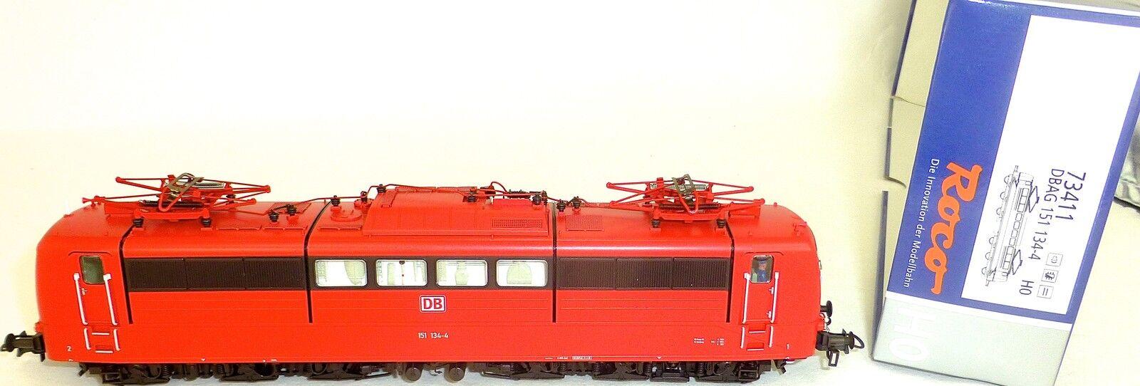151 Locomotive électrique SON NUMÉRIQUE SER60 EpV DSS NEM Roco 73411 H0 1 87