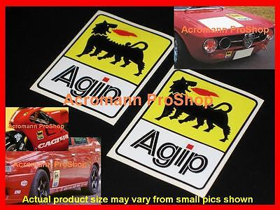 Made In Italy Bar Code Decal Sticker Racing Fiat Alfa Romeo Ferrari Pair