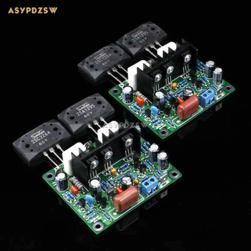 2PCS MX50 SE LAPT 2SA1295 2SC3264 Power amplifier board Dual Channel power amp