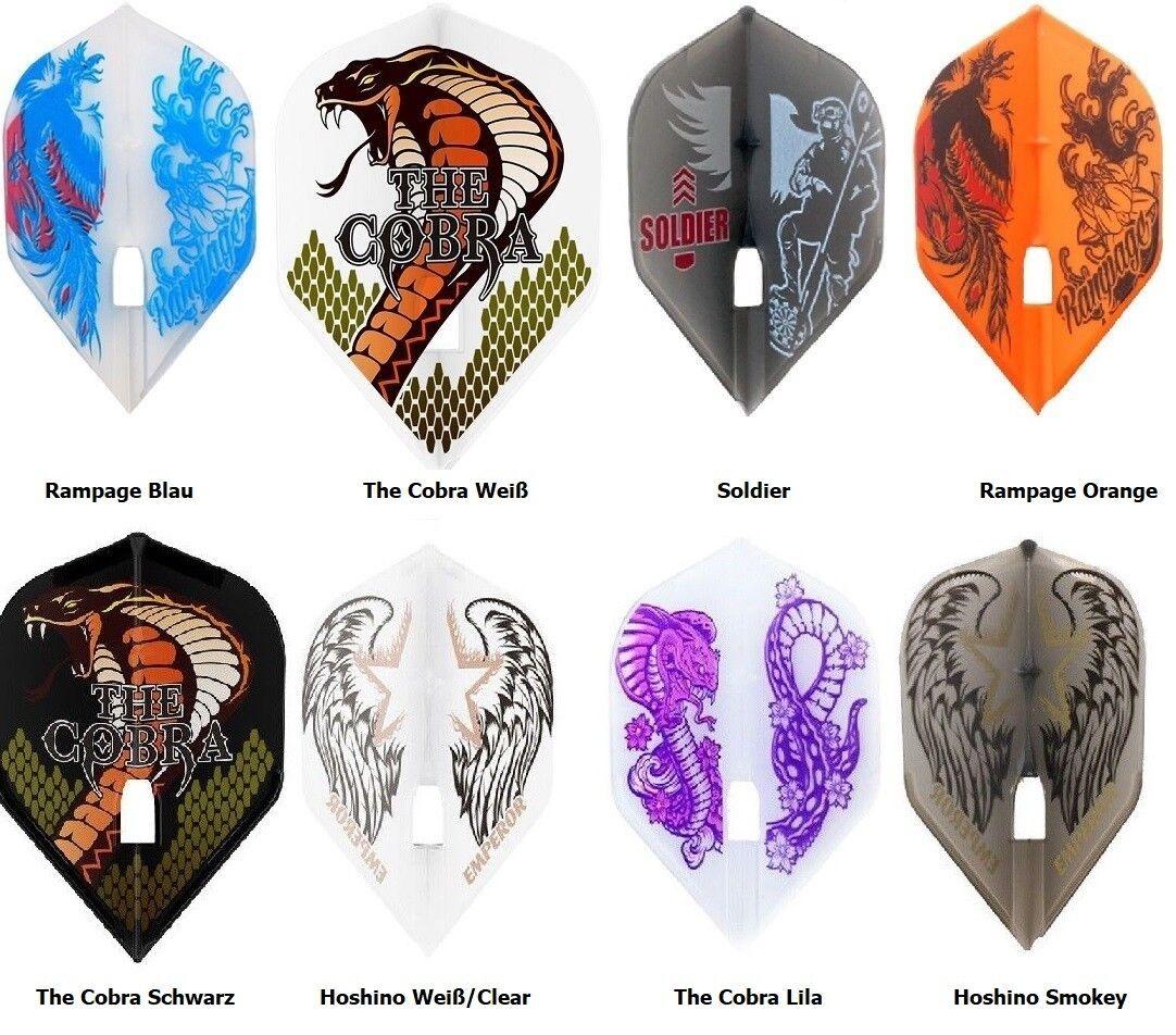 3,6,9,15 L-Style Design Signature Dart Flights 1,2,3,5 Sets Jelle Klaasen Cobra  | Exzellente Verarbeitung