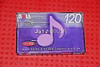 AXIA   J/'Z 2    54      VS SEALED 1 VI       BLANK CASSETTE TAPE