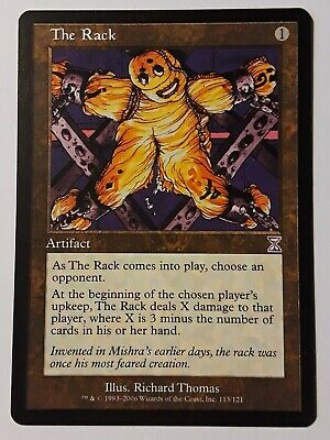 Magic the Gathering MTG The Rack Time Spiral Timeshifted   LP