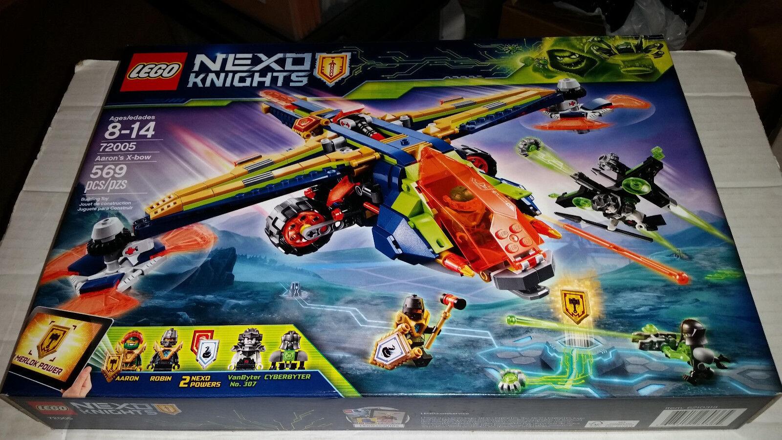 LEGO NEXO KNIGHTS Aaron's X-bow (72005) 569 pcs NEW SEALED