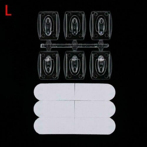 Self Adhesive Hooks Wall Door Plastic Strong Sticky d Sucker Removable d H8D6
