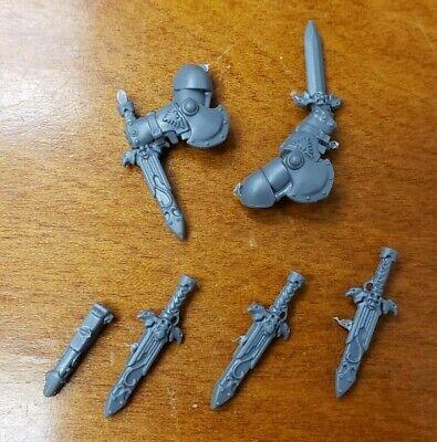 Warhammer 40k Bits:Adeptus Custodes Armory Misericordia Sword Lot