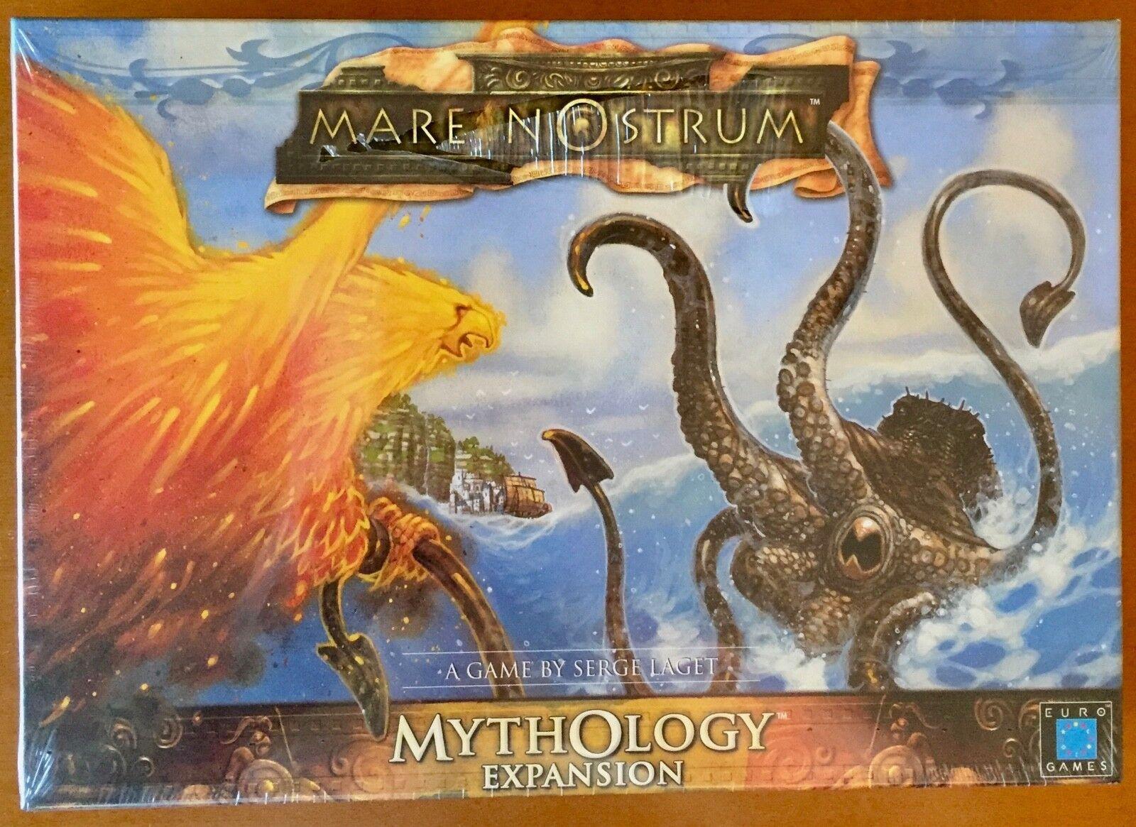 Mare Nostrum Mythology Expansion -Eurogames 2003 Blisterato Sealed Shrinkwrapped