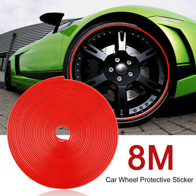 Hot 8M Pro Car Wheel Rim Protector Roll New Styling IPA Rimblades Car Tire Trim