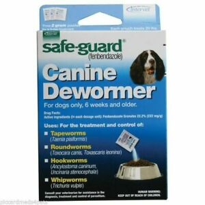 SafeGuard-Panacur-fenbendazole-K9-Dogs-20-lbs-2gm-3-Pack-dose-All-Wormer-Save