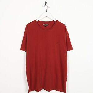 Vintage-Marlboro-Classics-Piccolo-Logo-T-Shirt-Maglietta-Rosso-XXL