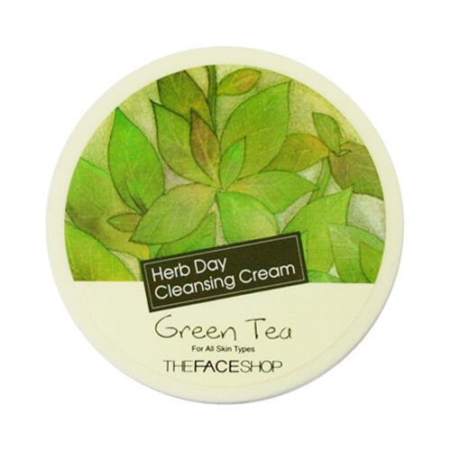 [THE FACE SHOP] Herb Day Cleansing Cream - 150ml #Green Tea