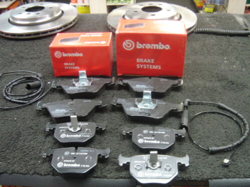 BMW 330D 330Ci 330i COUPE SALOON  BREMBO BRAKE PADS FRONT REAR WITH SENSORS