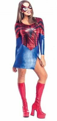 Energico Official Licensed Adulto Spidergirl Sexy Donna Ragno Supereroe Costume-mostra Il Titolo Originale