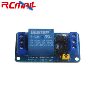 1-4-8Pc-3-3V-1-Channel-Relay-Module-High-low-Level-Trigger-Optocoupler-Isolation