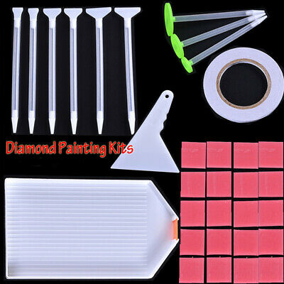 Full Square Round 5D Diamond Painting Kits Embroidery Corrector Point Drill Pen