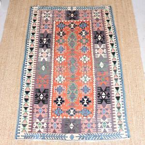 Vintage Afghan Kilim Rug 182 5 X 123 7