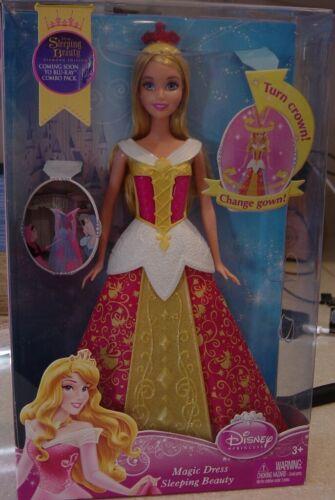 Disney Princess Sleeping Beauty Doll with a Magic Dress New