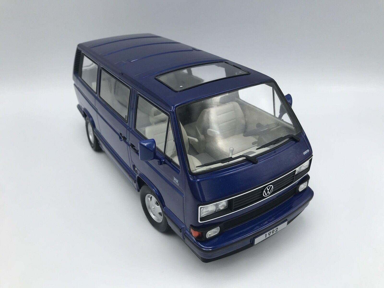 Vw t3 Multivan Limited last edition 1992-Bleu  - 1 18 KK-Scale    nouveau    Commandez maintenant