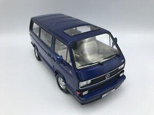 VW-T3-Multivan-Limited-Last-Edition-1992-blau-1-18-KK-Scale-gt-gt-NEW-lt-lt