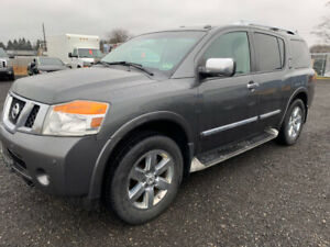 2010 Nissan Armada platinum SUV 4x4 Fully loaded