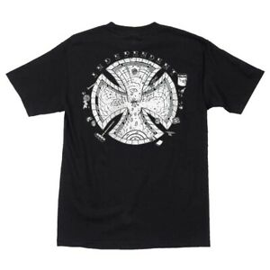 Independent-Trucks-POOL-SCUM-Skateboard-Shirt-BLACK-XL