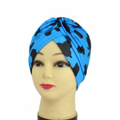 Women Lady Hair Loss Head Scarf Turban Cap Flower Muslim Flower Chemo Hat Cover