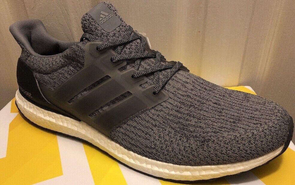 New Adidas UltraBoost 3.0 Men Shoes Mystery Grey Ultra Boost BA8849 Comfortable