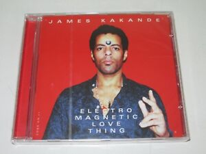 James-Kakande-Electro-Magnetic-Love-Thing-Peppermint-Jam-pjcd027-CD-Album-NEW